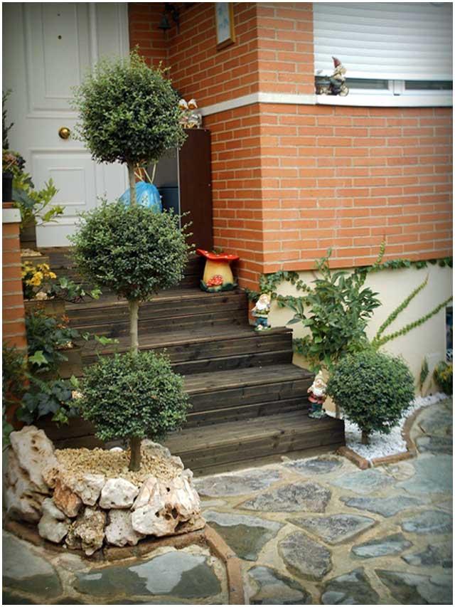 Pequeños jardines